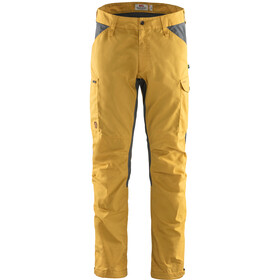 Fjällräven Kaipak Trousers Men ochre/super grey